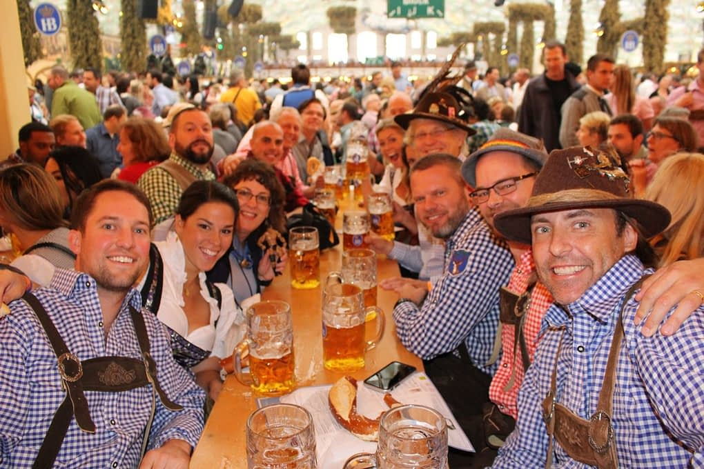 Oktoberfest and Bavarian Lederhosen
