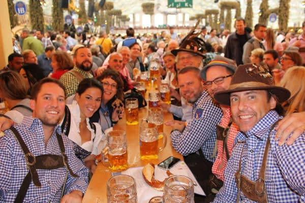 Oktoberfest and Bavarian Lederhosen