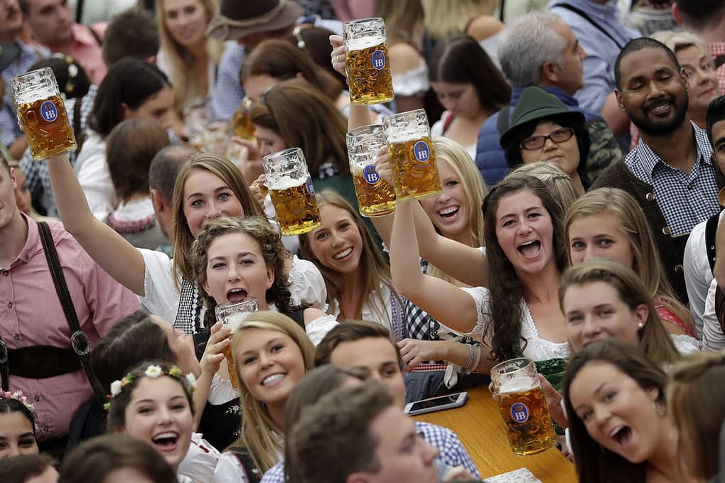 Germany Oktoberfest Opening