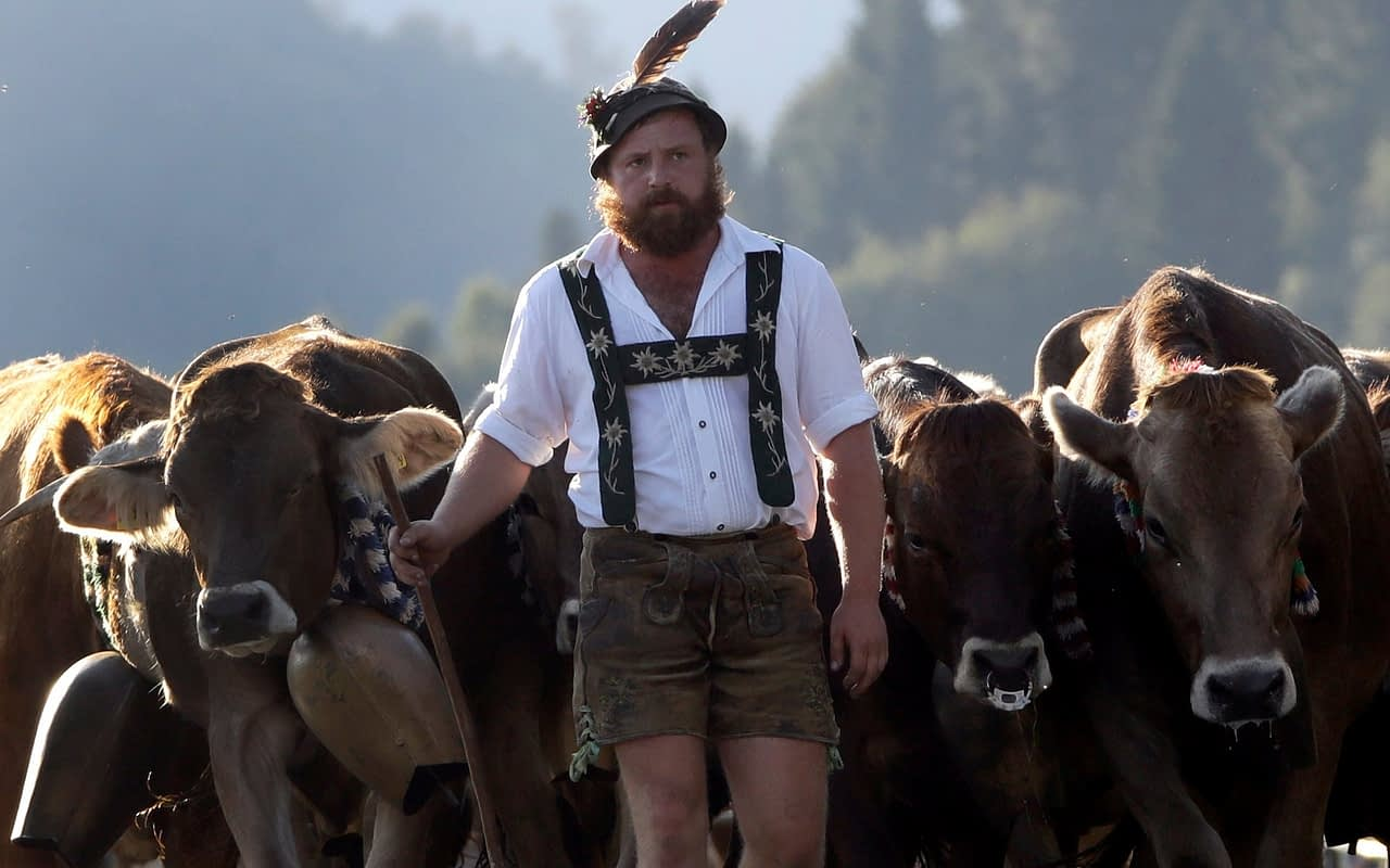 Farmer and Lederhosen